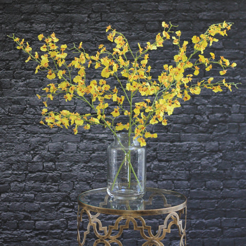 yellow oncidium stem - 30% OFF