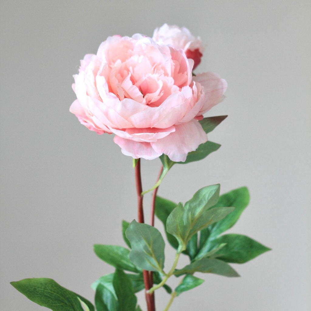 artificial flower pale pink original peony new luxury silk flowers