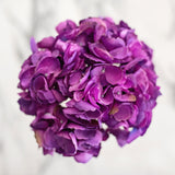 artificial flowers luxury faux silk bright purple mophead lifelike realistic faux flowers buy online from Amaranthine Blooms Hong Kong UK