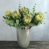 artificial flowers luxury faux green king protea lifelike realistic faux flowers buy online from Amaranthine Blooms Hong Kong UK