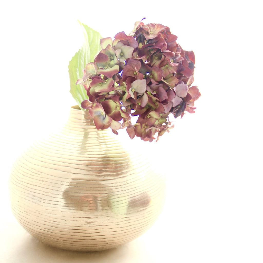 purple hydrangea luxury realistic lifelike artificial silk flower from Amaranthine Blooms in UK, Hong Kong, Australia