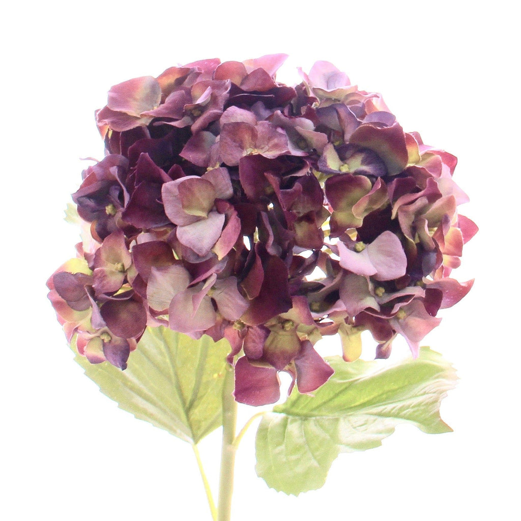 luxury artificial purple hydrangea