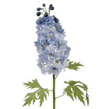 this luxury lifelike and realistic artificial blue delphinium silk flower is available from Amaranthine Blooms in Hong Kong and UK