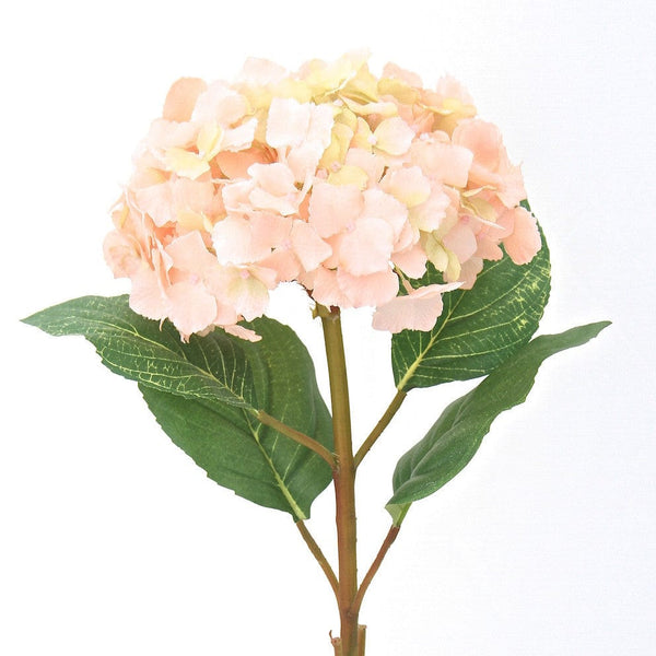 this luxury lifelike and realistic artificial pale pink lacecap hydrangea - tall silk flower is available from Amaranthine Blooms in Hong Kong and UK