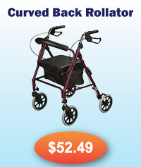 Curved Back Rollator