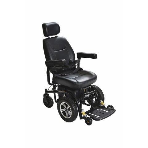 "Trident Front Wheel Drive Power Chair with 18""or 20"" Captain's Seat"