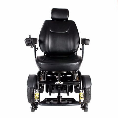 Trident HD Heavy Duty Power Wheelchair - 450 lb Weight Capacity