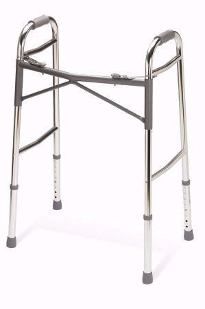 Adult Heavy-Duty Extra-Wide Bariatric Folding Walker - Aluminum
