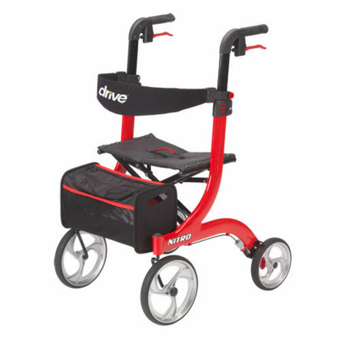 Drive Medical Nitro Euro Style Rollator Walker