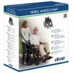 Rebel Lightweight Manual Wheelchair with Arm & Foot Rests