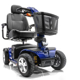Pride Mobility Victory Sport 4-Wheel Power Mobility Scooter in Blue SC710 DXW