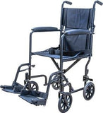 "Lightweight Steel Transport Chair 19"" by Cardinal Health"