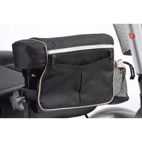 Power Mobility Armrest Bag, For use with Drive Medical Scooters and Wheelchairs