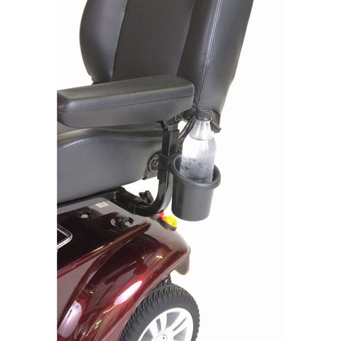 Power Mobility Drink / Cup Holder for Wheelchairs & Scooters