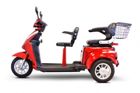 E-Wheels EW-66 2 PASSENGER Power Mobility Scooter