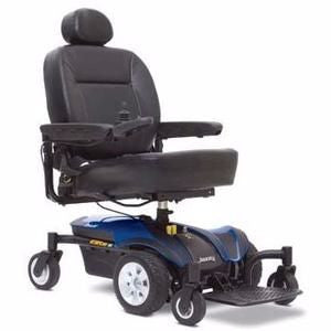 Pride Jazzy Select Elite Power Wheelchair - Red or Blue