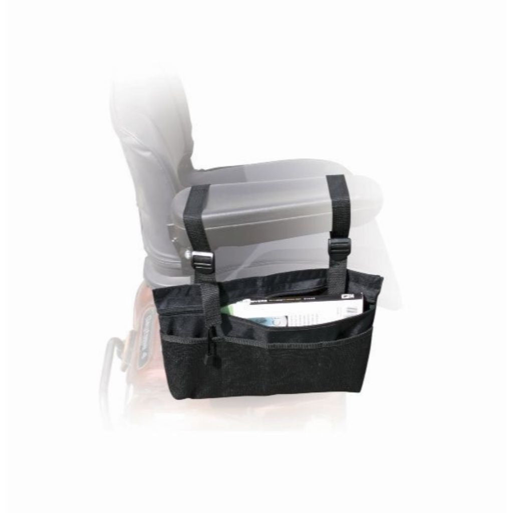 Power Mobility Scooter Arm Tote Bag for Wheelchairs & Scooters