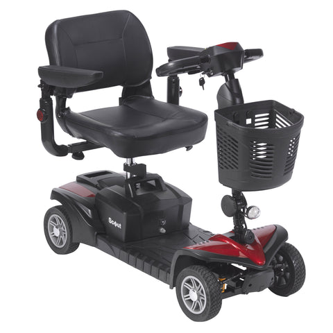 Scout DST 4-Wheel Travel Power Mobility Scooter - Easy to Disassemble