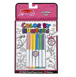 Color By Numbers Coloring Pad