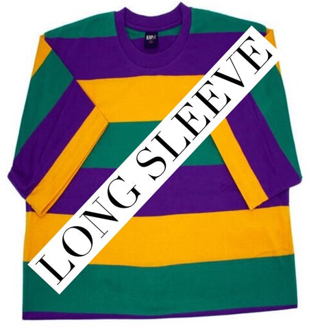 Mardi Gras Tshirt- Long Sleeve