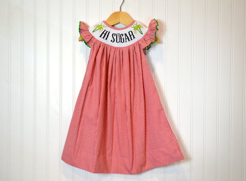 Hi Sugar Bishop Dress