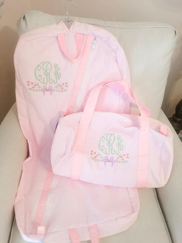 Seersucker Baby Garment Bag