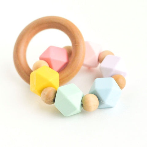 Hexi Teething Ring