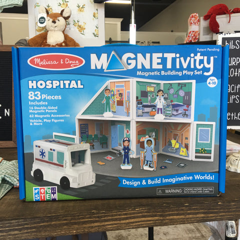 Magnetivity Magnetic Building Playset- Hospital