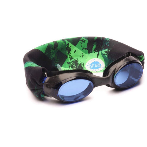 Splash Swim No Pull Goggles - Green Fusion