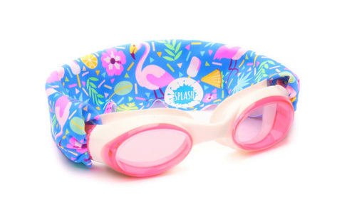 Splash Swim No Pull Goggles - Flamingo Pop
