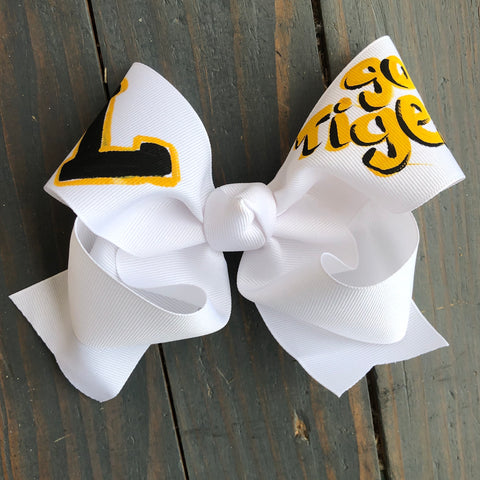 Loreauville Hand Painted Bow- Preorder