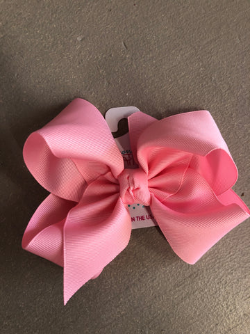 Pink Bow on Headband