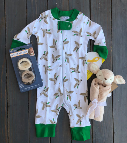 Duck Life Zipper Pajama
