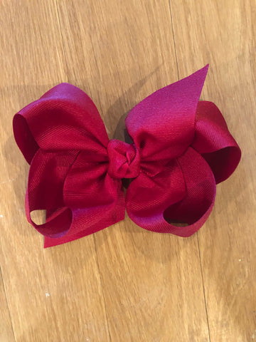 Cranberry Bow on CLIP