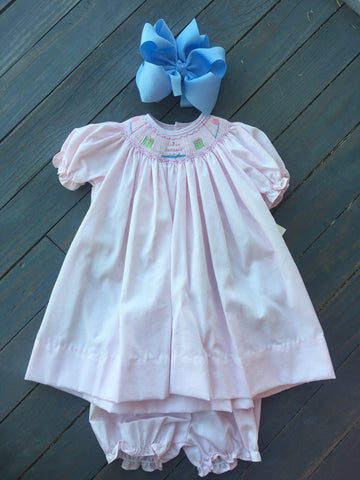 Birthday Smocked Dress
