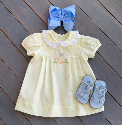 Yellow Little Duck Dress