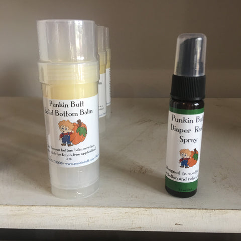 Punkin Butt Solid Bottom Balm