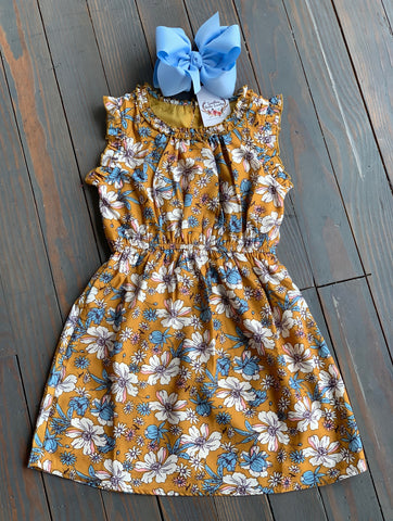 Honey Floral Dress