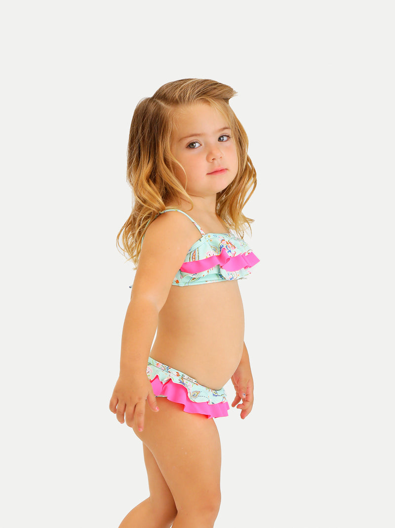 Traje de Baño Niña Bikini - Top and Bottom Bacalar - 6 Meses a 14 Años