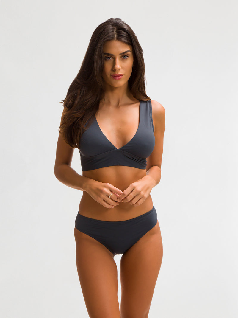 Bikini Bottom para Mujer Color Gris - Balandra - SHE by 98 2020