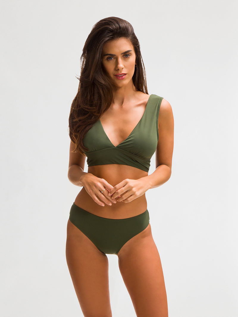 Bikini Top para Mujer Color Verde - Balandra - SHE by 98 2020