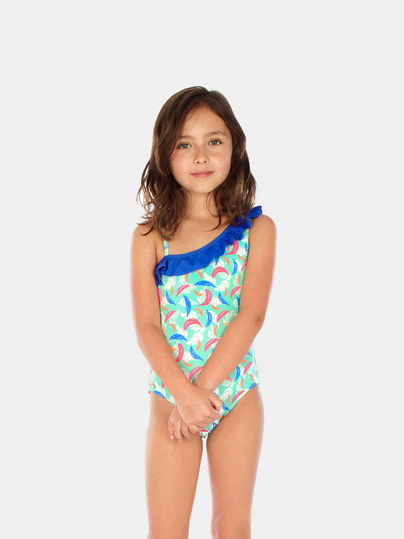 Traje de Baño Niña Entero - Bananas One Piece One Shoulder - 6 Meses a 14 Años
