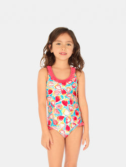 Traje de Baño Niña Entero - Light Daiquiri One Piece - 6 Meses a 14 Años