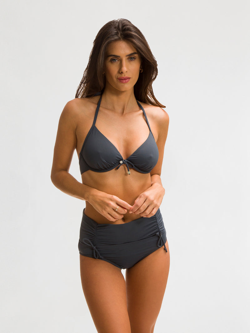 Bikini Bottom Color Gris - Mazunte Gris - SHE by 98 2020