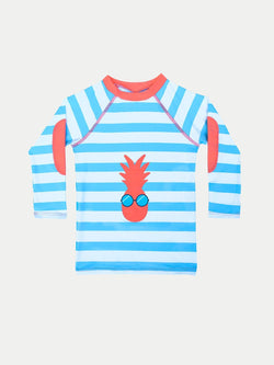 Camiseta UV Niño - Pineapple - 1 a 12 Años - Manga Larga