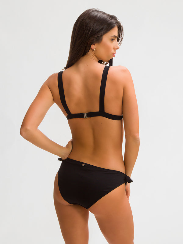 Bikini Bottom para Mujer Color Negro - Palmitas Negro - SHE by 98 2020