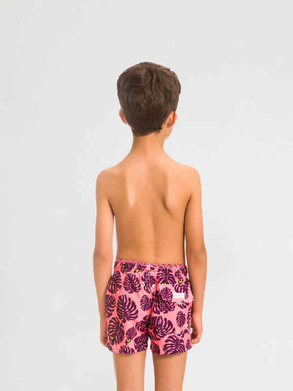Traje de Baño para Niño Color Rosa - Selva Peach - Sea Salt 2020
