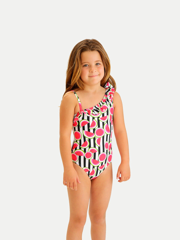 Traje de Baño Niña Entero - Sweet Stripes One Piece - 6 Meses a 14 Años