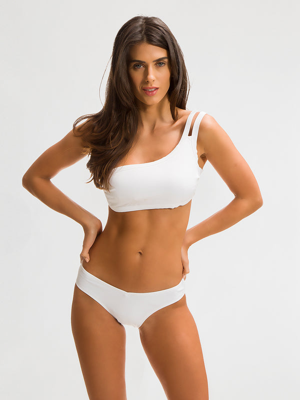 Bikini Bottom para Mujer Color Blanco - Tanka Blanco - SHE by 98 2020