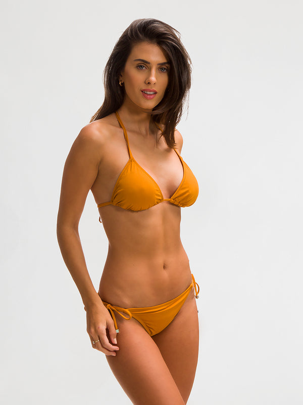 Bikini Bottom para Mujer Color Amarillo - Tulum Azafrán - SHE by 98 2020
